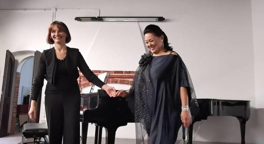 Soprano Ryoko Yamashita e basso Stefano Paradiso in concerto