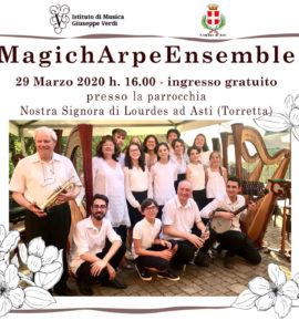 MagichArpeEnsemble in concerto
